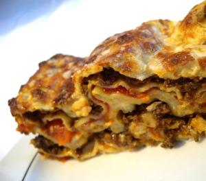 Wildschwein-Lasagne