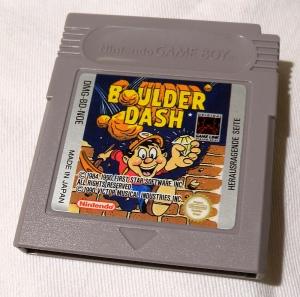 Boulder Dash für den Gameboy