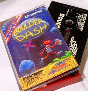 Boulder Dash für den Sinclair ZX Spectrum