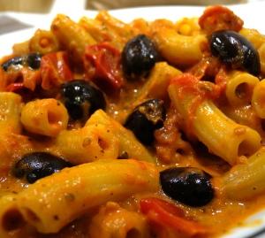 Tomaten-Oliven-Sahne