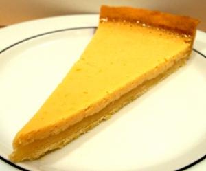 Bergamottenkuchen nach Key-Lime-Pie-Art